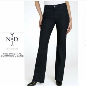 NYDJ Lift Tuck Black Bootcut Jeans